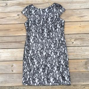 ALYX limited Silver and Black lace sheath dress